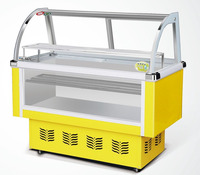 Supermarket Table Top Display Ice Cream Refrigerator With 12 Boxes
