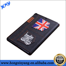 jeans case for ipad air, for ipad air jeans cover ,mixed order available