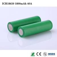 1800mah Wholesale Strong Light Flashlight Rechargeable 18650 Li-ion Battery