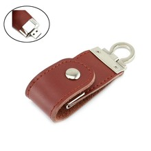 new product 512mb leather usb flash drive accept paypal