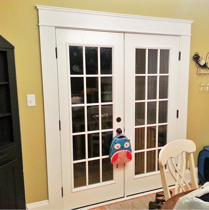 15 lites white painted double french doors buy french for Buy french doors
