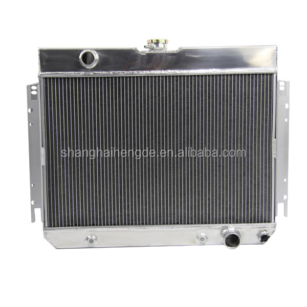 3 ROW ALUMINUM AUTO RADIATOR 63-68 IMPALA MANY FOR CHEVY GM CARS