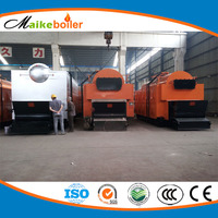 commercial coal steam boiler for beer brewery