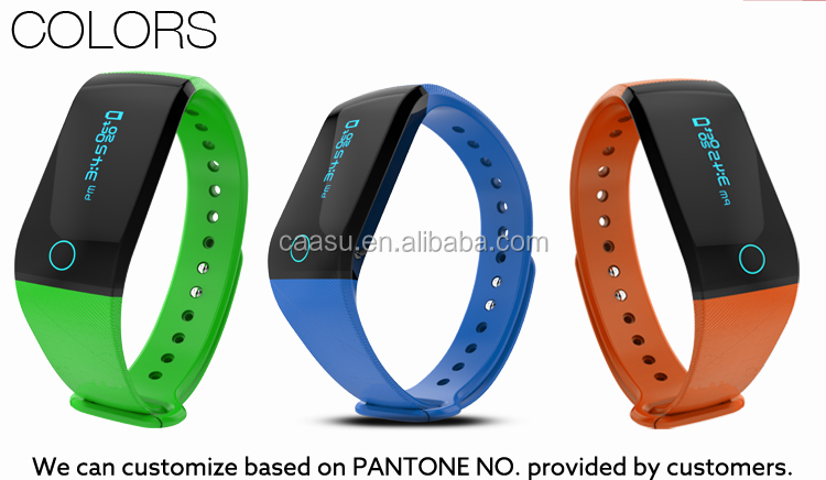 Bluetooth Sports Tracker iOS & Android Fitness Band Smart Wristband Manual