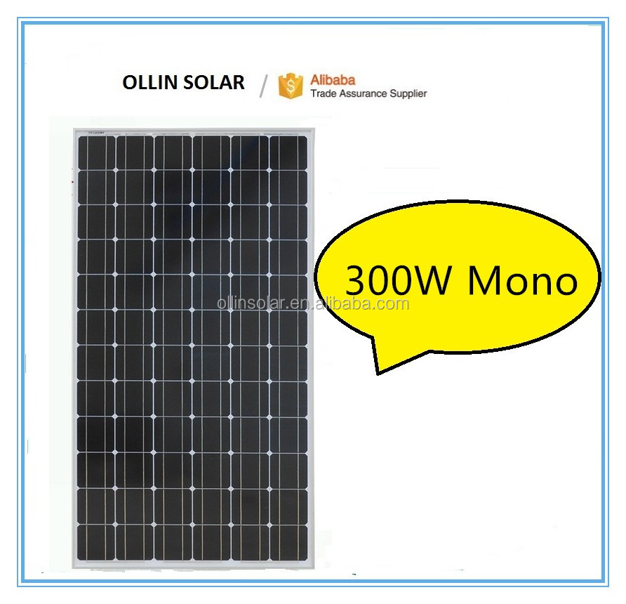 300W mono solar panel price made in china