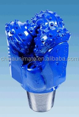 Rubber Sealed Mill Tooth Tricone Drill Rock Bit For Water Well Drilling