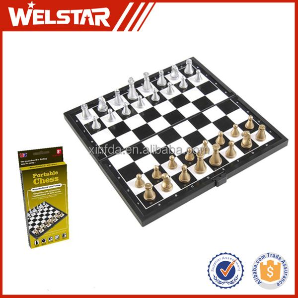 Wholesale Folding Magnetic Chess Board Chess Set Chess