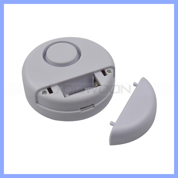Portable Round Shape Vibration Alarm for Door and Window