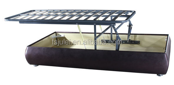Horizontal Open Lift Up Storage Bed