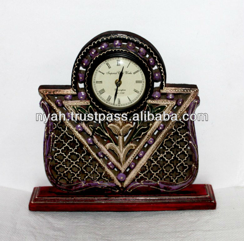 LOW PRICE BEST QUALITY BRASS ANTIQUE TABLE CLOCK