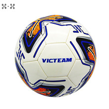 Factory direct sale soccer ball new design stitched football ball