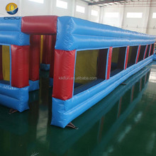 EN14960 popular inflatable maze obstacle equipment, inflatable tunnel maze for sale