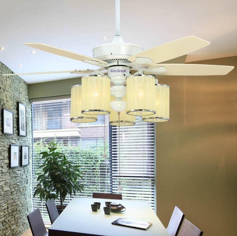 modern ceiling fan fancy ceiling light living room dining room bedroom