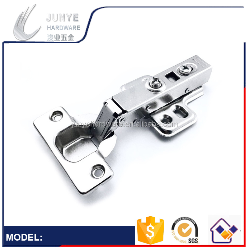 2017 Good Quality Iron Cabinet Hinges Soft Closing , Clip On Hydraulic Hinge Kitchen Furniture