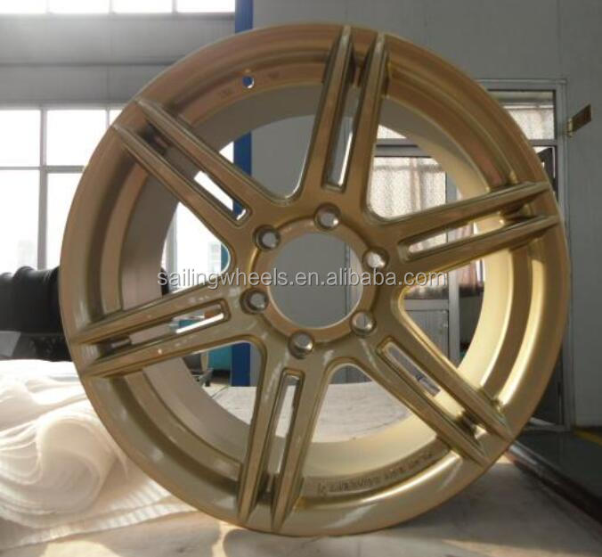 20x9.5 inch 6x139.7 inch bronze color car alloy wheels rims for auto drive systems