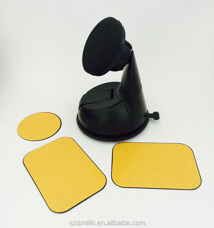 Strong 3-in-1 Adhesive Metal Plates for iMagnet Mount/Magnet Air Vent Mount