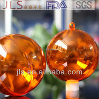 clear ball and plastic ball ceiling hanging christmas ball decorations