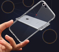 New Arrival Clear Transparent Shockproof TPU Case for iphone 6, Soft TPU back cover for iphone 6 for iphone 6 case cover