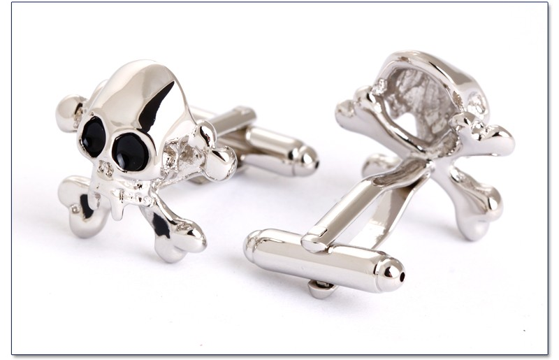 Novelty Skull Wholesale Bulk Cufflinks