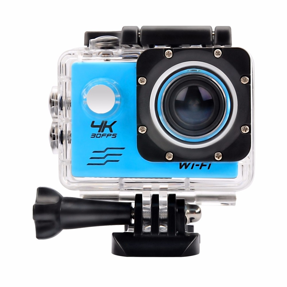 2.0inchs screen NTK96660 4K 24fpsWi-Fi Remote control action camera 4k