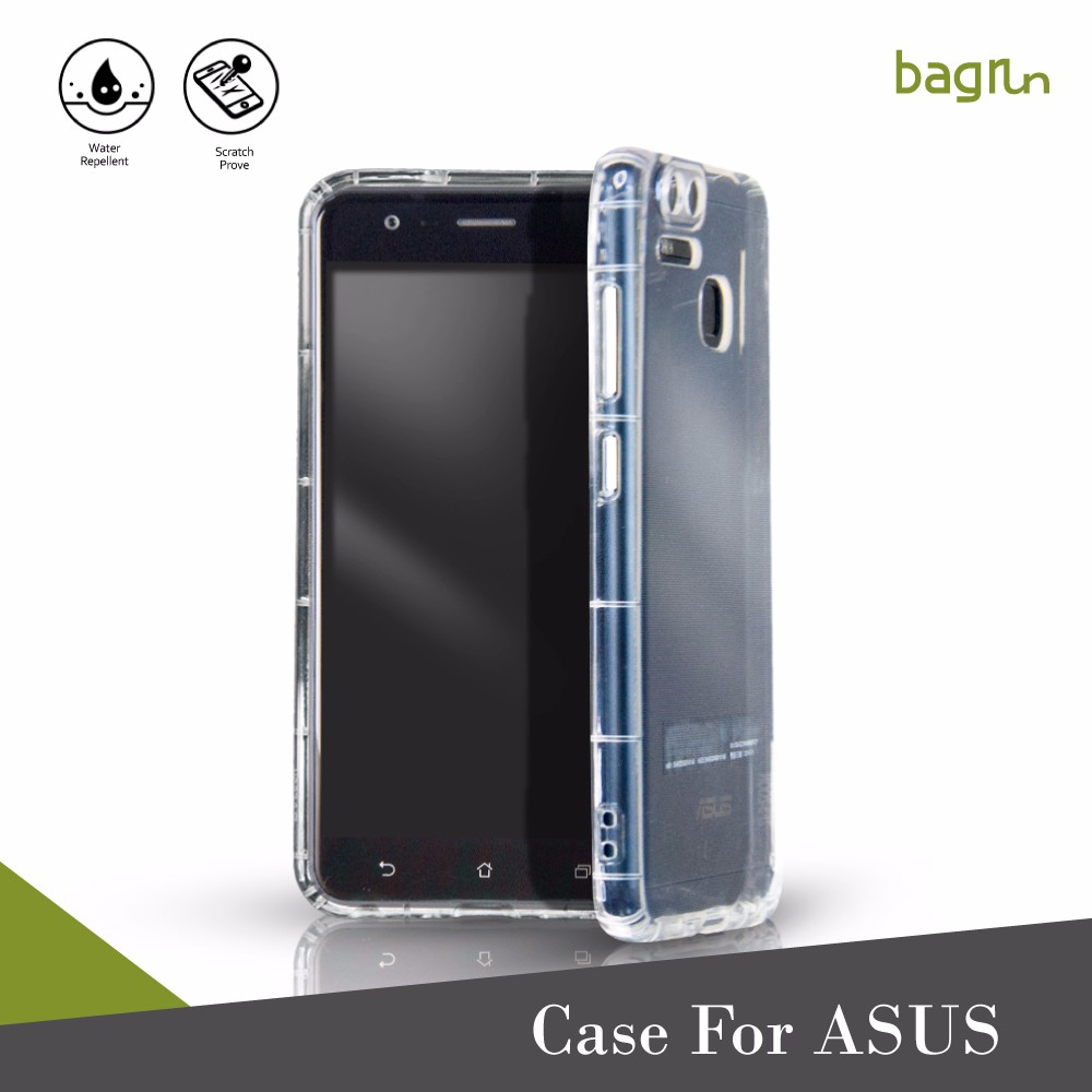 Transparent TPU Soft Clear Gel Smartphone Case For ASUS