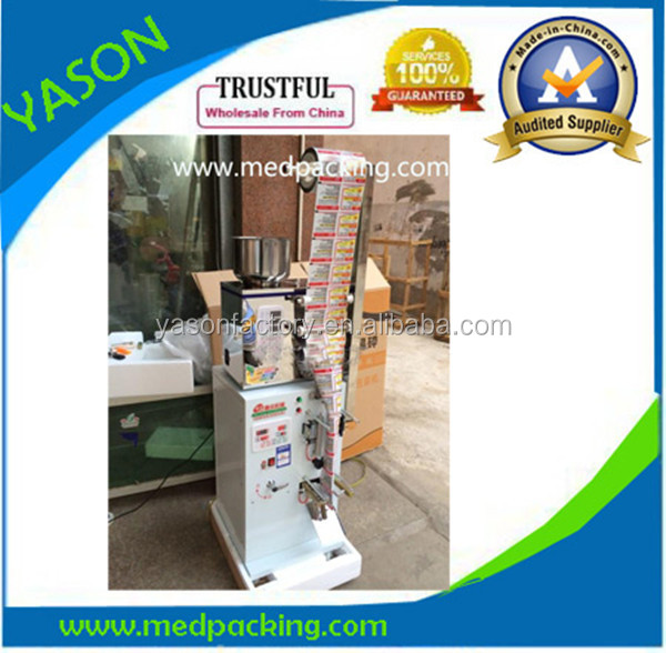 2-25g Automatic Intelligent Salt Filling And Sealing Machine With 0.2g Precision And 2 Year Warranty