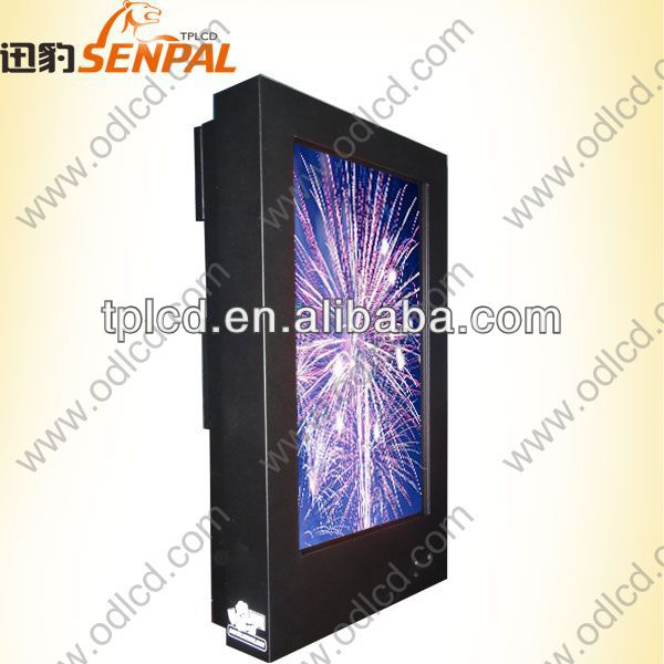 70 inch hight brihtness 2000nits/2500nits All weather proof outdoor LED backlight TV lcd advertising display