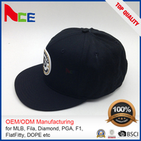 Oem Designed Embroidered Square Flat Brim Hip-Hop Snapback Hats American Hip-Hop Caps And Hats