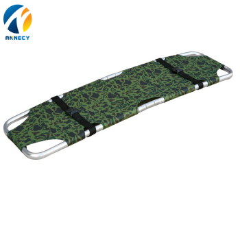 AC-FS015 new medical High quality emergency equipment folding strong ambulance stretcher medical
