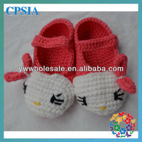 2013 hot sale new style baby shoes crochet