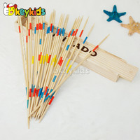 2016 wholesale baby wooden mikado game, funny kids wooden mikado game, children wooden mikado game W01B014