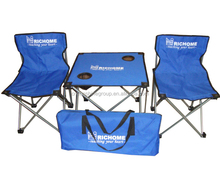 Custom logo outdoor furniture,picnic chair and table,folding camping table and chair with great price