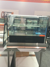 refrigerated bakery display case/counter top cake display refrigerator