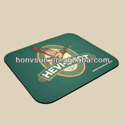 rubber mouse pad for promotional gift