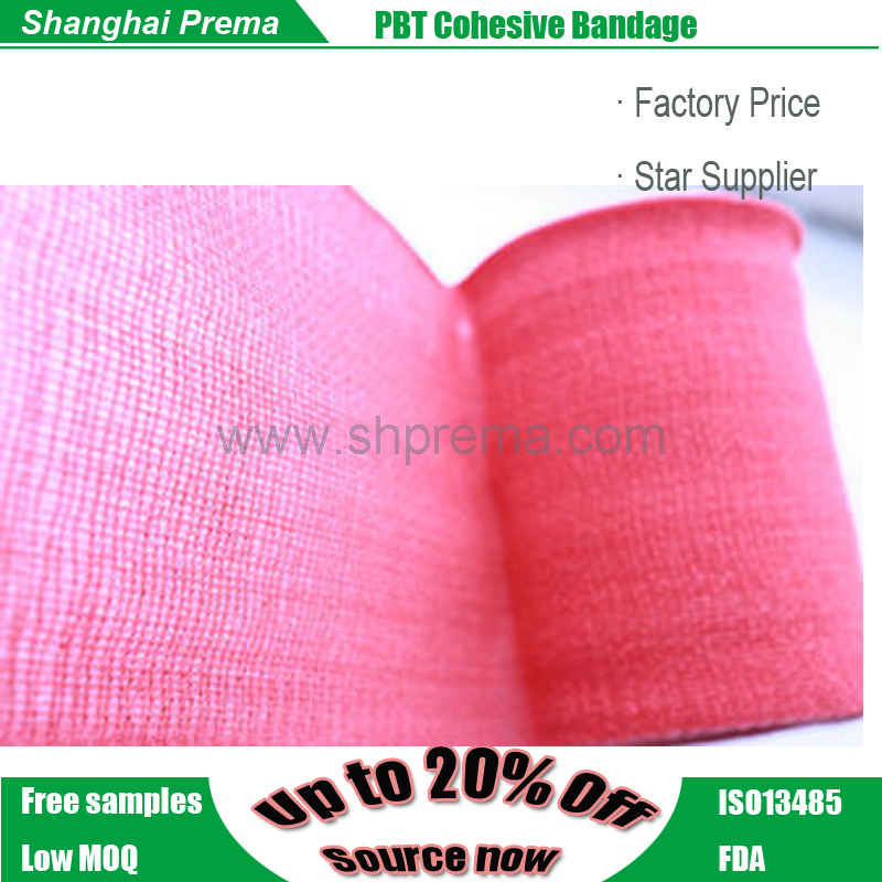 High Quality PBT Coheisve Bandage consumable products wholesale