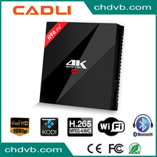 Promotion android 7.1 android smart tv box with linux system
