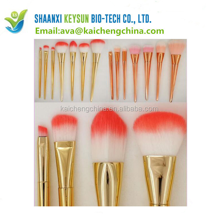 Recommend 7Pcs Soft Make Up Tools Cosmetic Beauty OEM Makeup Brush Sets