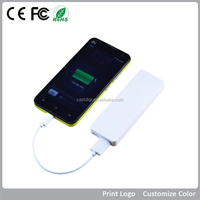 High quality super slim 2500mAh power bank for all smart phones