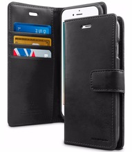2017 New factory price for iphone 7 leather wallet case,for iphone 7 tpu case black