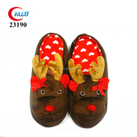 cheap wholesale christmas gift warm winter indoor slipper
