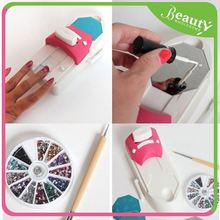 Art nail printer H0T3q diy nail art printing stamp machine set