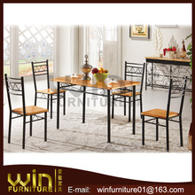 melamin dining room furniture dining tables and chairs set