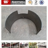 Round Thick Steel Metal Sheet Part