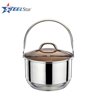 2016 New Design Patented Stainless Steel Handle Soup Steam Cooking Pot