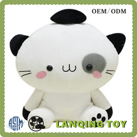 Wholesale Cute 20cm White Plush Cat Toy