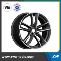 ZW-P5126 18 inch new replica alloy wheels with best quality, 5x112 rims
