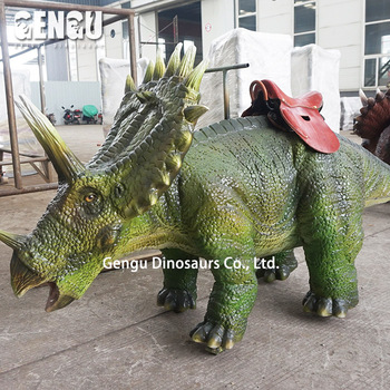 Entertainment dinosaur kids coin operated rides