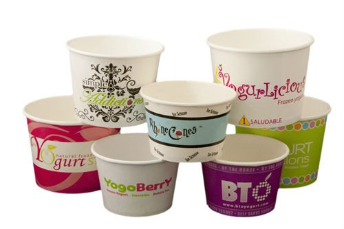 Eco-friendly Paper 16oz Ice Cream Cup