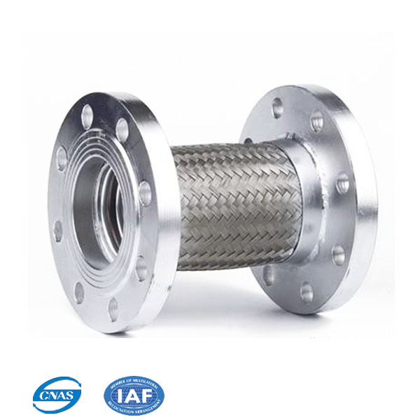 Pipe vibration isolator bellows expansion joint flexible compensator