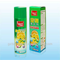 500ml environmental friendly aerosol spray cleaner, air conditioner cleaner
